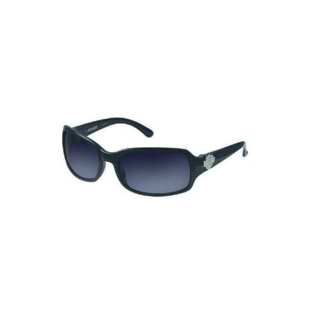 Womens Sun Lifestyle Grey w/ Grey Lens Sunglasses HDS5007GRY-35, Harley (Harley Davidson Sunglasses For Women)