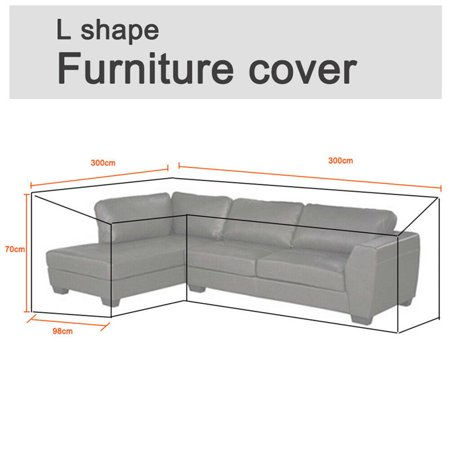 Astonishing Outdoor Furniture Cover Waterproof Garden Rattan Corner Furniture Cover Outdoor Sofa Protect L Shape 118X118X39 Caraccident5 Cool Chair Designs And Ideas Caraccident5Info