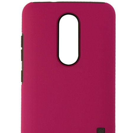 Incipio DualPro Series Dual Layer Case Cover for ZTE ZMAX Pro - Matte Pink/Gray - image 2 de 3