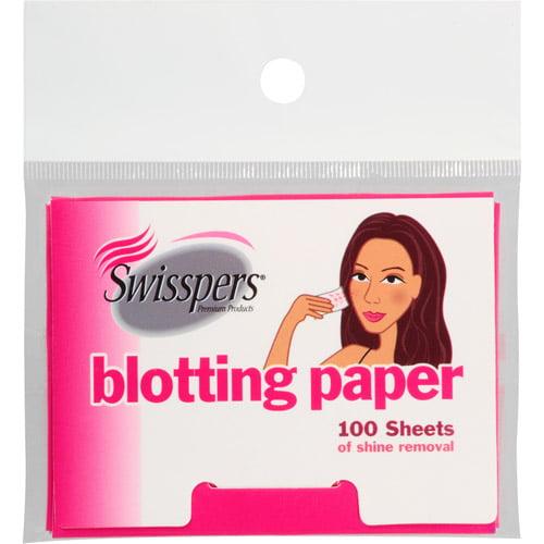 Swisspers Blotting Paper, 100 sheets