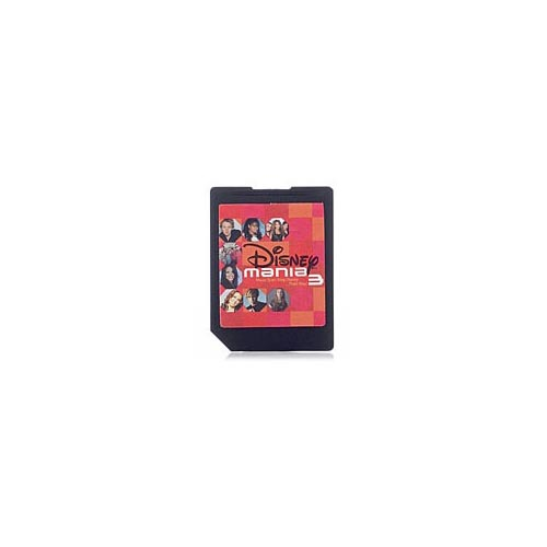 Disney Mix Clip Music SD Card: Disney Mania 3