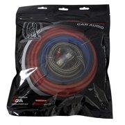 NEW BULLZ AUDIO 4 Gauge Car Amplifier/Amp Installation Power Wiring Kit | EPAK4R