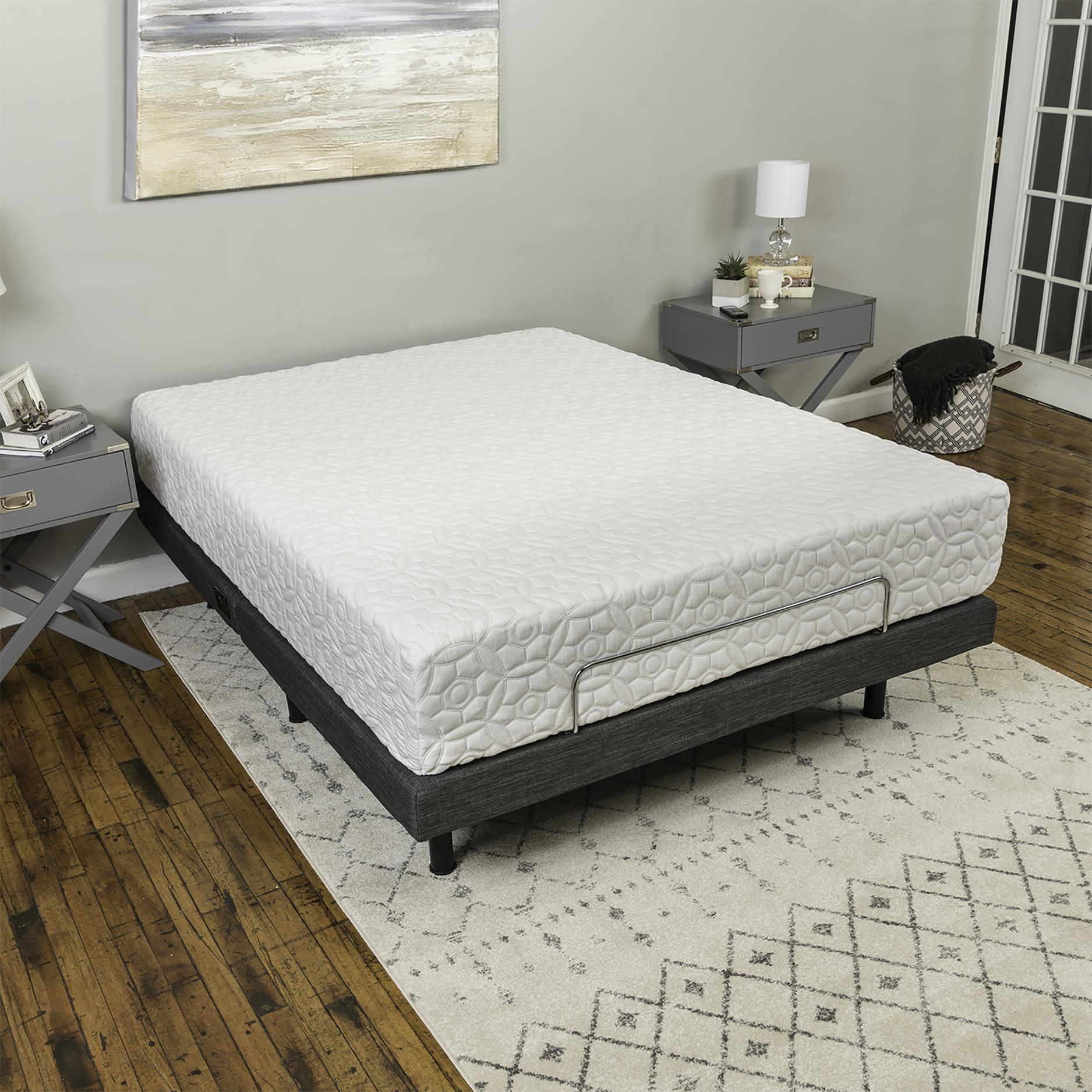 Modern Sleep Adjustable Comfort Adjustable Bed Base with Massage
