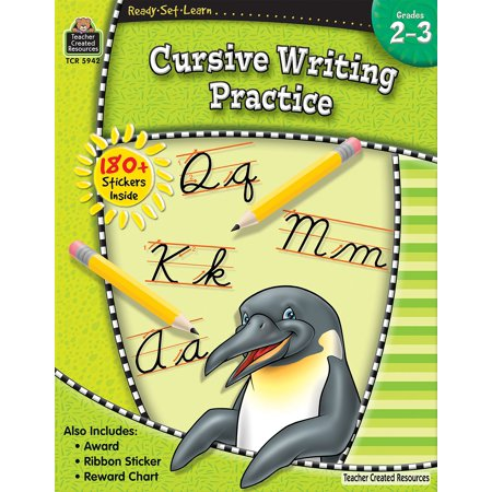 Ready, Set, Learn Series: Ready-Set-Learn: Cursive Writing Practice Grd 2-3 (Paperback)