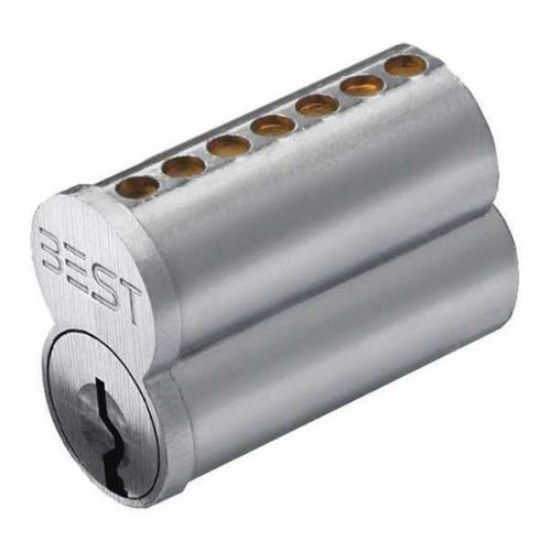 BEST 1C7A1626 Interchangeable Core,7 Pins,Satin Chrome G1606361