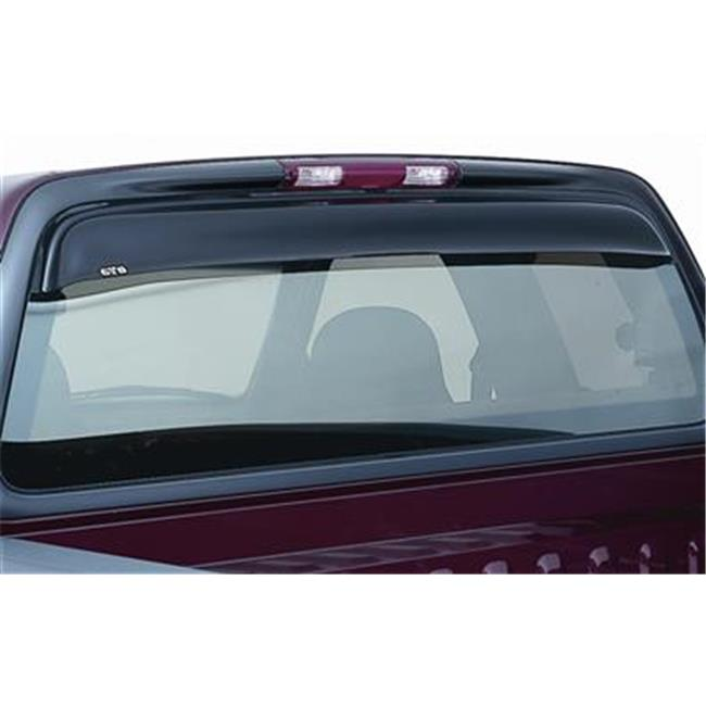 GT STYLING 57315 Shade Blade Smoke Rear Window Deflector