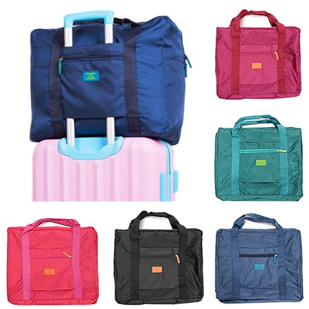 Outdoor Travel Luggage Bag Handbag Clothes Storage Organizer Foldable Carry-On Duffel Bag 5 (Best Carryon Bags)