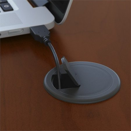 "Bush Business Series C 72"" Right U-Shaped Hutch Desk in Hansen Cherry - image 6 de 8"