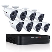 Night Owl 8 Channel 3MP Extreme HD Video Security DVR with 1 TB HDD and 8 x 3MP Wired Infrared Cameras
