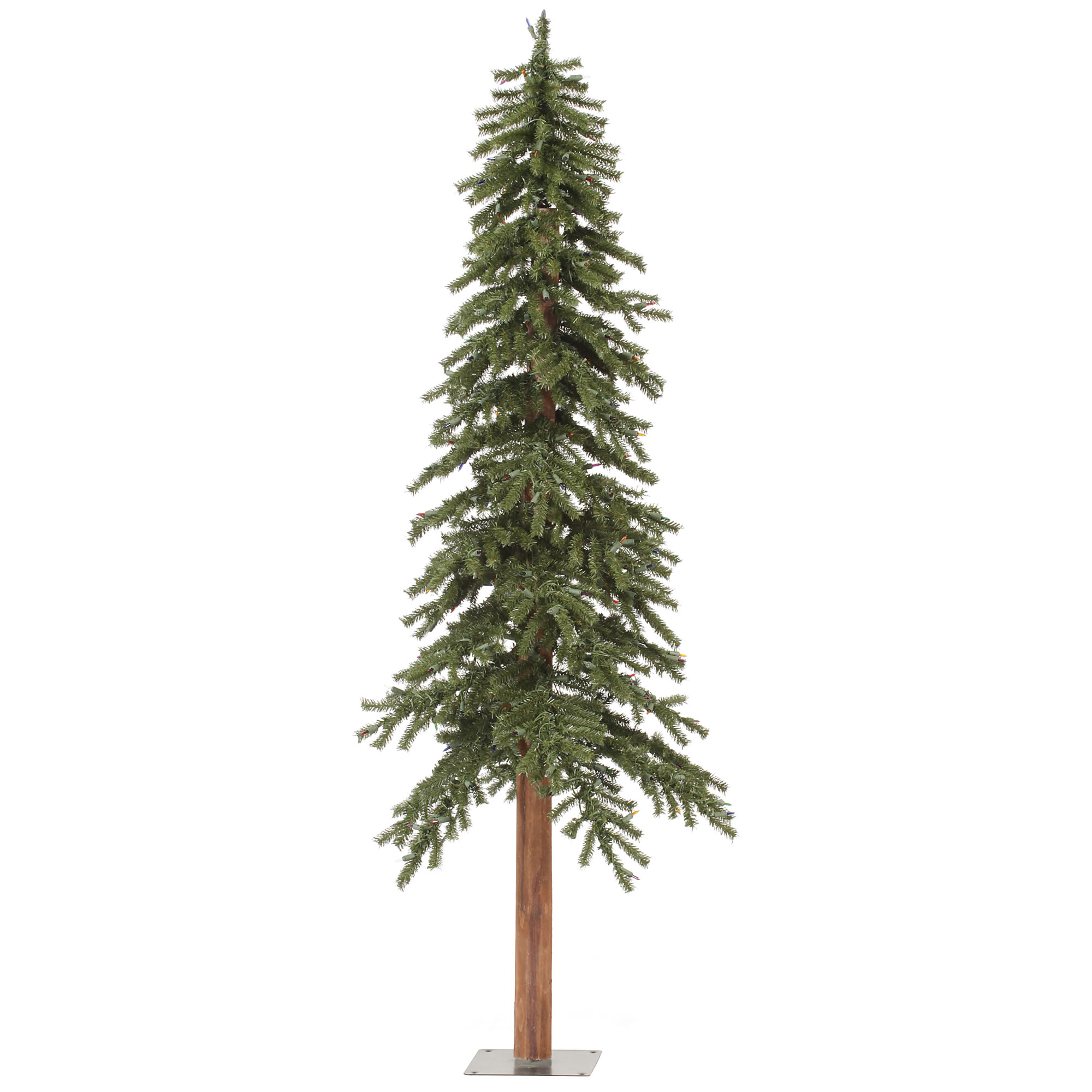 "Vickerman Artificial Christmas Tree 6'x 33"" Natural Alpine Tree 657 Tips"