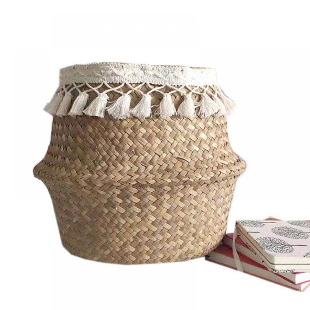 Details about  /1PC Bamboo Weave Tea Accessory Storage Box Creative Storage Basket Tea Supplies