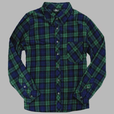 - Boxercraft F51B Blackwatch Men's Flannel Shirt