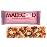 MadeGood Strawberry Granola Bars, 0.85 Oz, 15 Ct