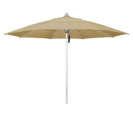California Umbrella Silver Umbrella Linen