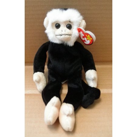 TY Beanie Babies Mooch the Spider Monkey Stuffed Animal Plush Toy - 9 inches tall By