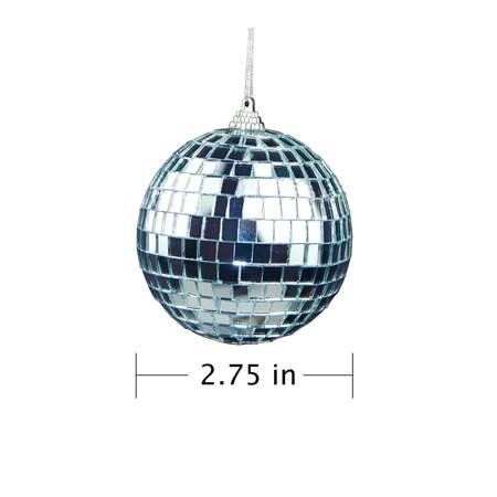 12 Pcs Mirror Balls Disco DJ Dance Decorative Stage Lighting Home Party Business Window Display Decoration 1.2 INCH - image 8 of 8