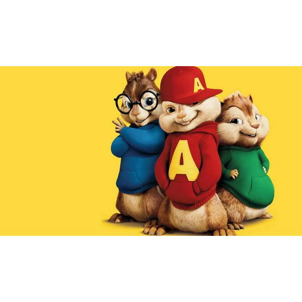 Outstanding Alvin Chipmunks Birthday 1 2 Size Frosting Sheet Cake Topper Funny Birthday Cards Online Alyptdamsfinfo