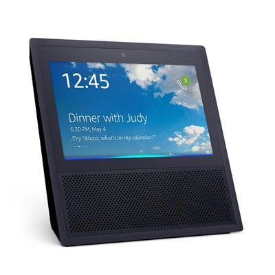 Amazon Black Echo Show Smart Display 1st Generation Black B01J24C0TI - image 1 de 1