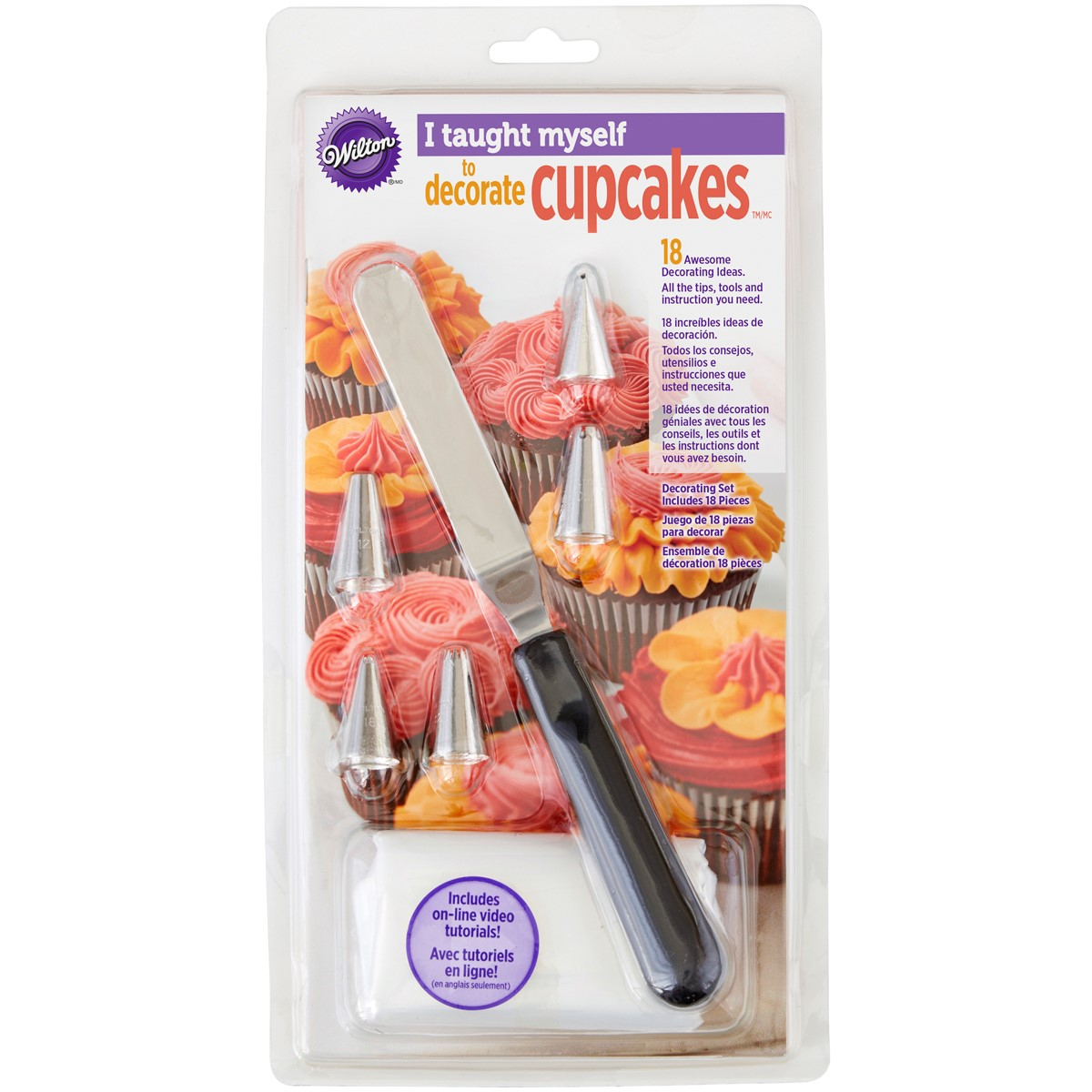 "Wilton ""I Taught Myself"" Cupcake Decorating Book Set"