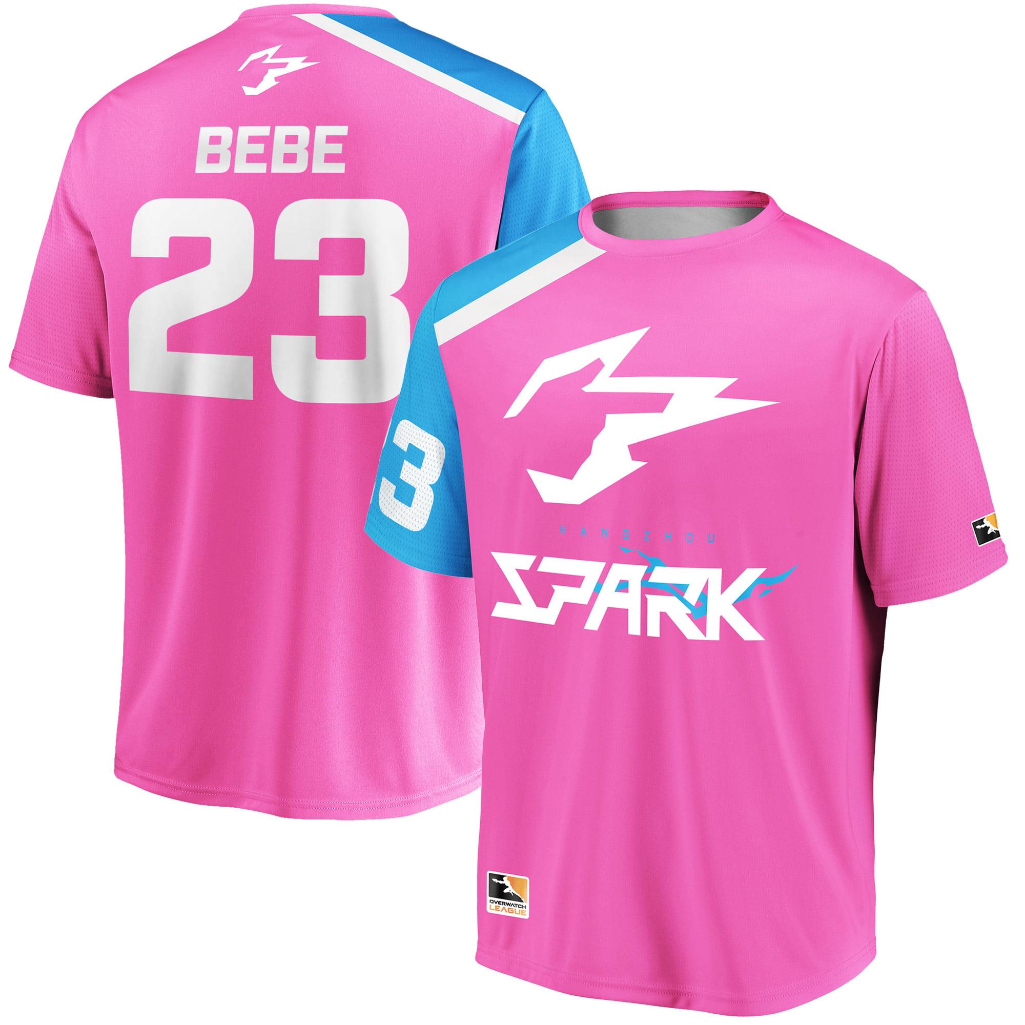 BEBE Hangzhou Spark Overwatch League Replica Home Jersey - Pink