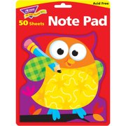 Trend Owl-Stars Shaped Note Pads, 50 / Pad (Quantity)
