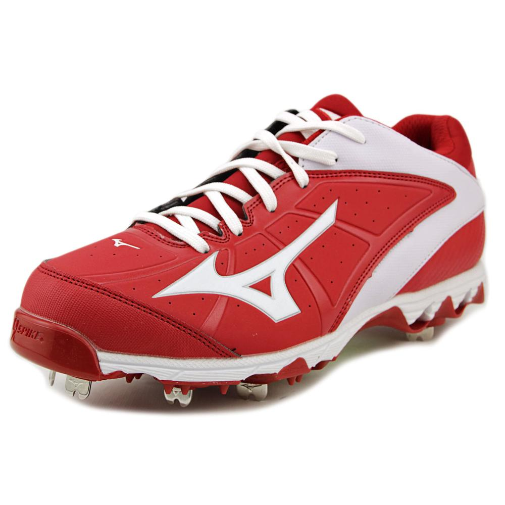 Mizuno 9-Spike Swift 4 Women W Round Toe Synthetic Red Cl...