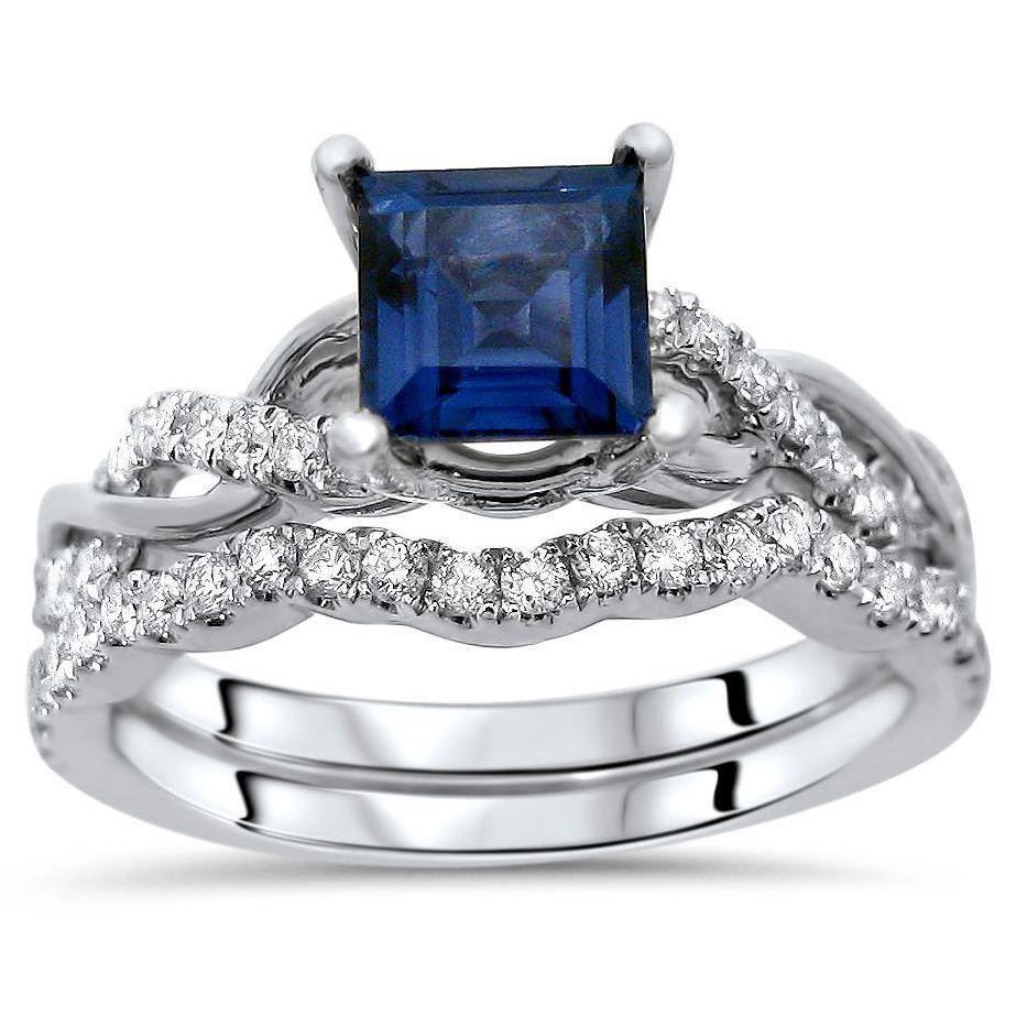 Diamond Rings For Sale Walmart: Limited Time Sale 1.50 Carat Sapphire And
