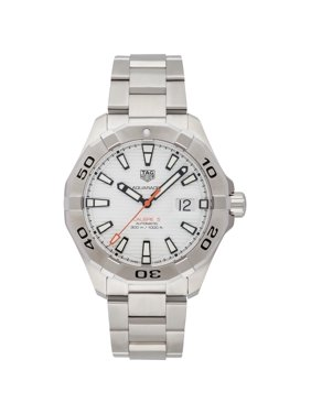 5d29681497d Product Image Tag Heuer Men's WAY2013.BA0927 'Aquaracer' Automatic  Stainless Steel Watch