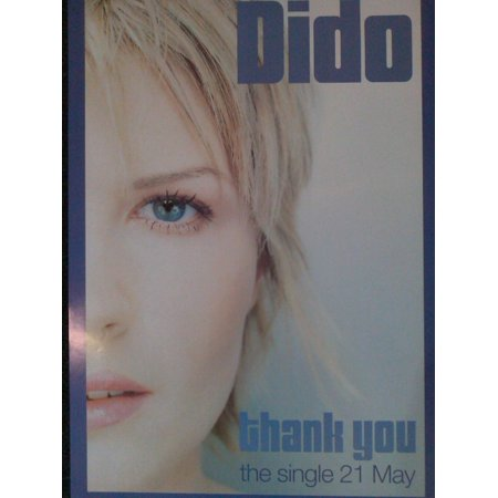 Dido Thank You Poster - No Thank You Halloween Poster