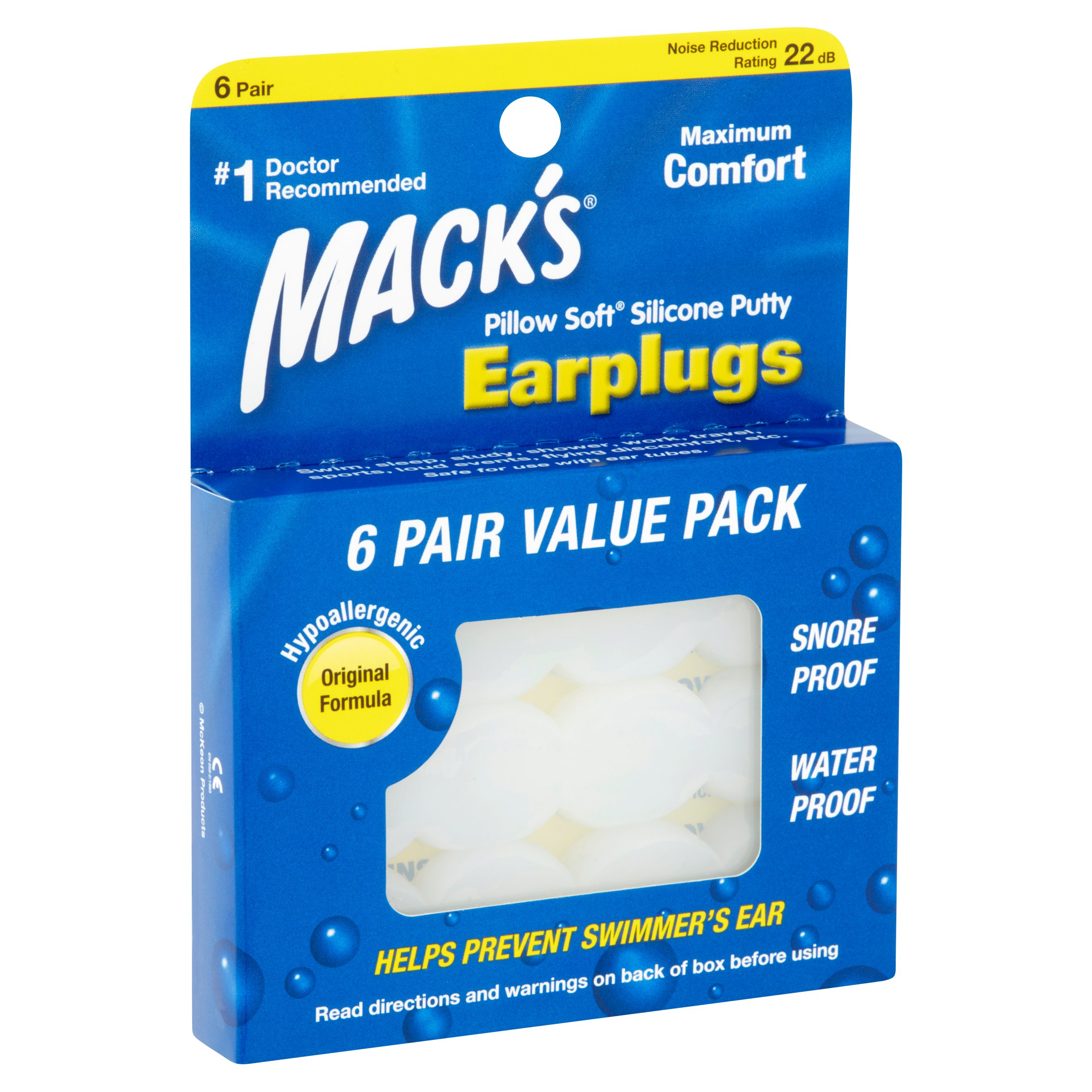Ear Plug Kits Boxed FF White Waterproof Soft Silicone Swimming Set Nose Clip