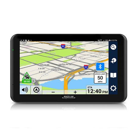 Magellan RoadMate 7771T-LMB 7 Inch GPS with Traffic, Bluetooth & Free Lifetime Maps ()