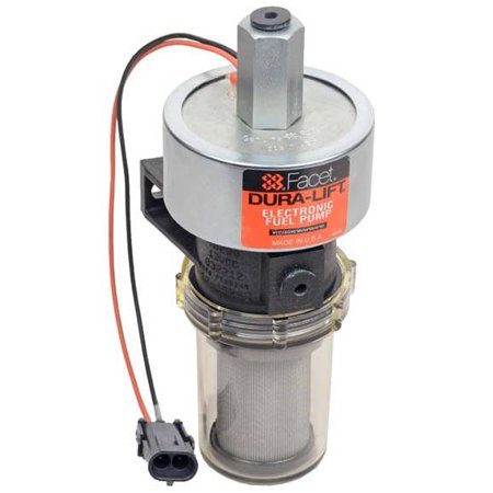NEW 12V FACET SOLID STATE FUEL PUMP FITS PACKARD CONNECTOR DURA-LIFT 12-15PSI 40290N ()