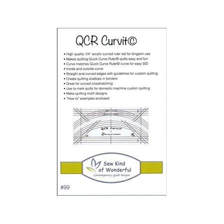 Sew Kind Of Wonderful Qcr Ruler Curvit Set