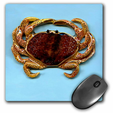 3Drose Crab  Mouse Pad  8 By 8 Inches