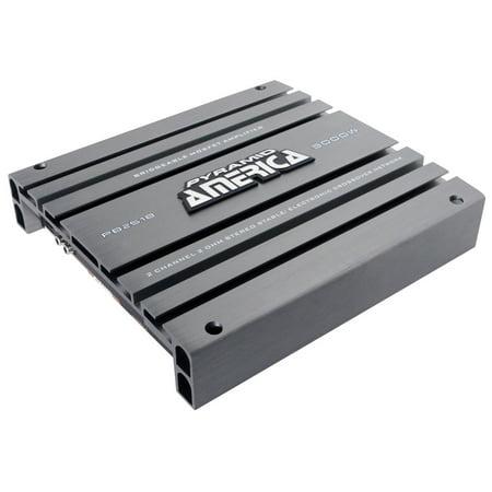 Pyramid 3000 Watt 2 Channel Bridgeable Mosfet (12 Channel Bridgeable Amplifier)
