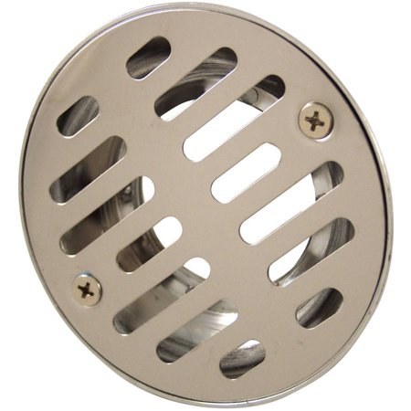 "Plumb Craft Waxman 7659150 2"" Stainless Steel Shower Drain"