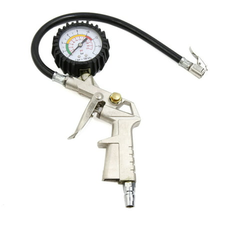 0-220Psi Tire Tyre Inflator  Dial Precision Air Pressure Gauge for Auto