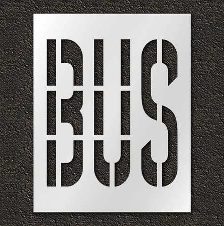 Pavement Stencil,Bus,36 in RAE STL-116-73615