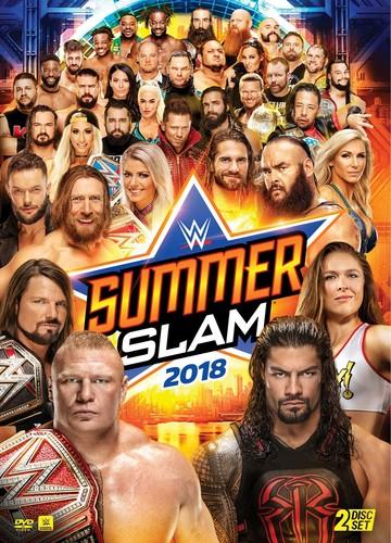 WWE: SummerSlam 2018 DVD by