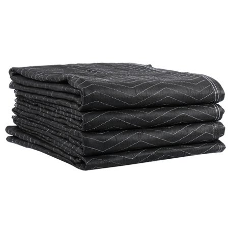 Uboxes Pro Economy Moving Blankets, 72 x 80 in, 2.92lbs each, 6 Pack