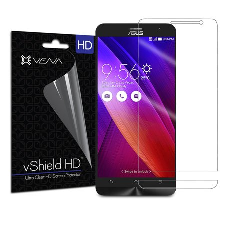 Clear Replacement Shield (Asus ZenFone 2 Screen Protector - VENA� vShield [Ultra Clear HD] Anti-Scratch Shield with Lifetime Replacement Warranty for Asus ZenFone 2 (3 Pack) )