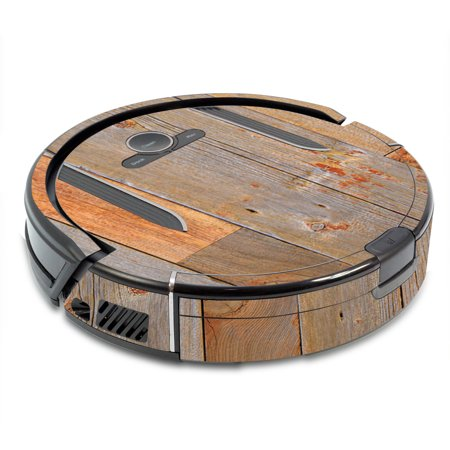 Mightyskins Skin For Shark Ion Robot R85 Vacuum Barnwood