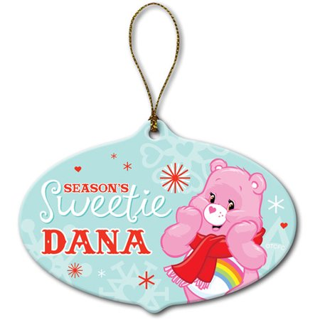Personalized Care Bears Holiday Cheer Bear (Holiday Cheer Ornament)