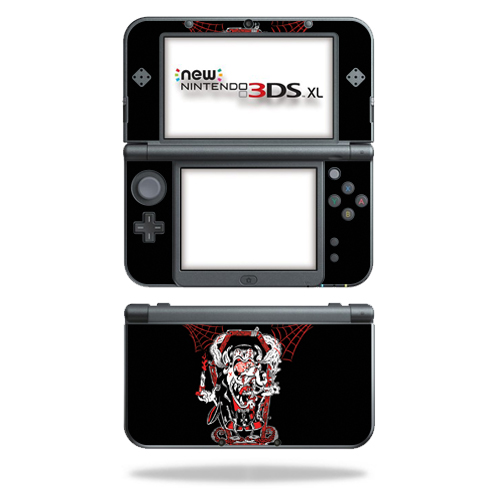 MightySkins Protective Vinyl Skin Decal for New Nintendo 3DS XL (2015) Case wrap cover sticker skins Crackula