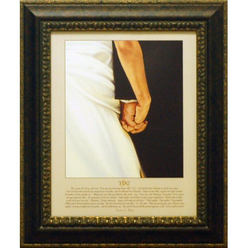 Artistic Reflections I Do by Bonnie Mohr Framed Graphic Art by Artistic Reflections