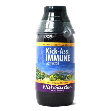 WishGarden Herbal Remedies Kick Ass Immune - 4 oz Jigger Top - Kick Ass 2 Costumes
