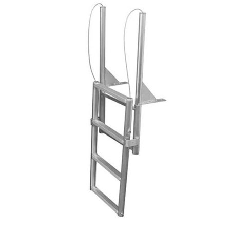 Jif Marine Efl4 4 Step Folding Dock Lift Ladder Walmart Com