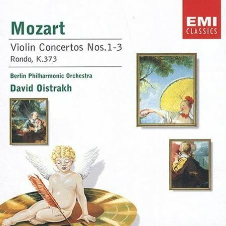 Mozart Rondo Violin (MOZART: VIOLIN CONCERTOS NOS. 1-3; RONDO, K. 373 )