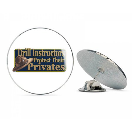 Marine Corps Drill Instructors Protect Their Privates 7.3 x 3.2  Steel Metal 0.75