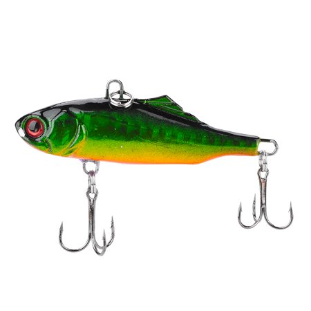 Sonew 6pcs Durable ABS Hard Fishing Bait Lure Crankbait Treble Hooks Finshing Tackle Accessory,Fishing Bait, Fish Lures - image 4 of 8